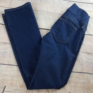 NWT Gap Maternity Jeans Perfect Boot Dark Wash